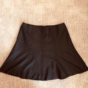 Ann Taylor nwt a-line blue skirt